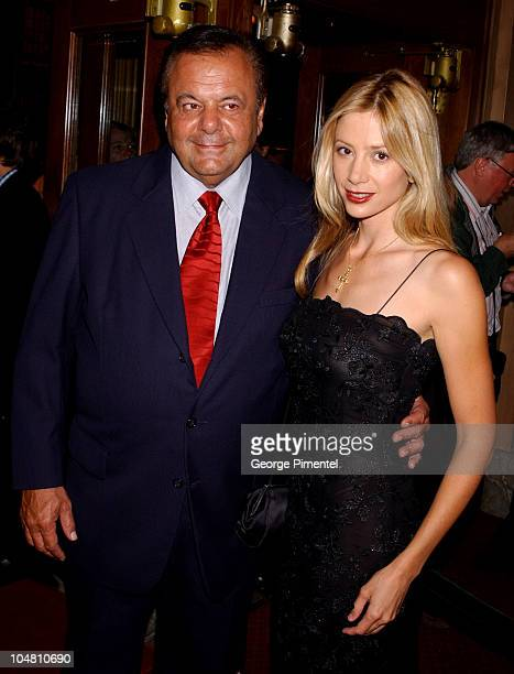 Paul Sorvino and Mira Sorvino during 2002 Toronto Film Festival 'Between Strangers' Premiere in Toronto Ontario Canada