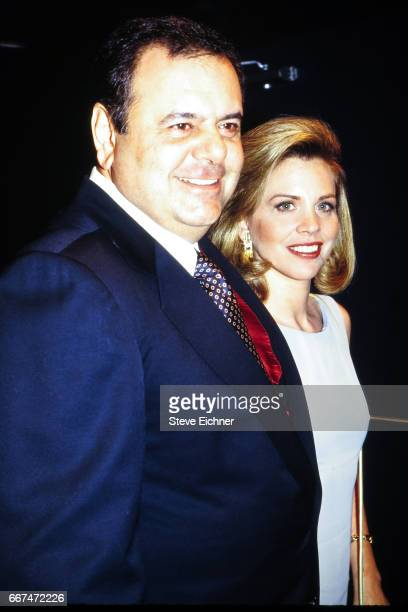 Paul Sorvino and Vanessa Arico at Club USA New York New York April 1993