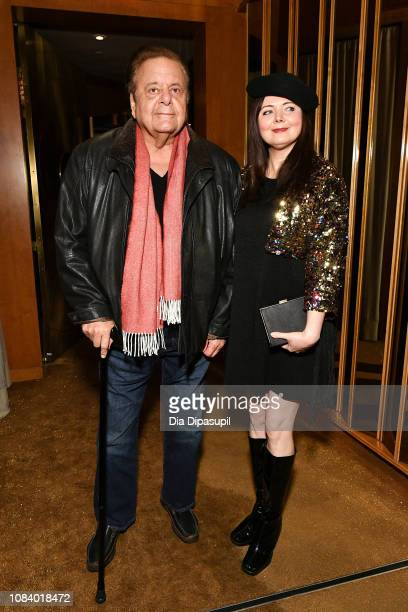 Paul Sorvino and wife Dee Dee Sorvino attend the Mary Poppins Returns screening after party hosted by The Cinema Society at The Top of The Standard...