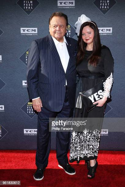 Paul Sorvino attends the 2018 TCM Classic Film Festival Opening Night Gala 50th Anniversary World Premiere Restoration of The Producers at TCL...