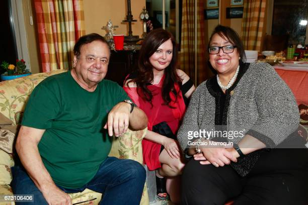 Paul Sorvino Dee Dee Sorvino and Kimberly Morella during the Paul Dee Dee Sorvino celebrate their new book Pinot Pasta Parties at 200 East 57th...