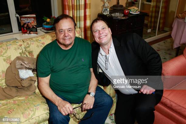 Paul Sorvino during the Paul Dee Dee Sorvino celebrate their new book Pinot Pasta Parties at 200 East 57th Street on April 25 2017 in New York City