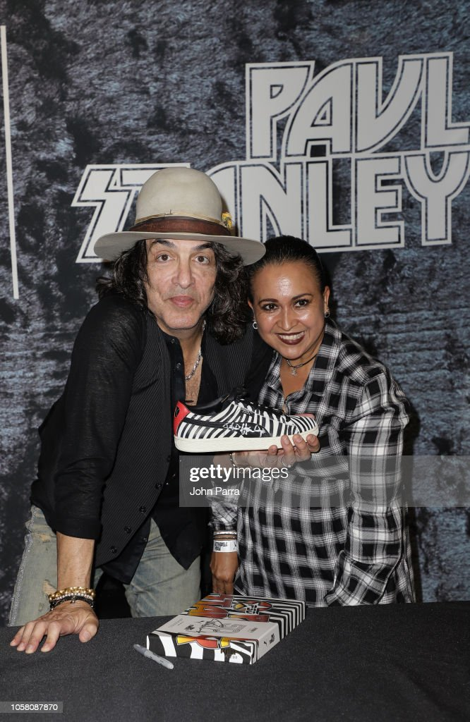 on sale caa42 0578c Paul Stanley and fans are seen at the Puma x Capsule ...