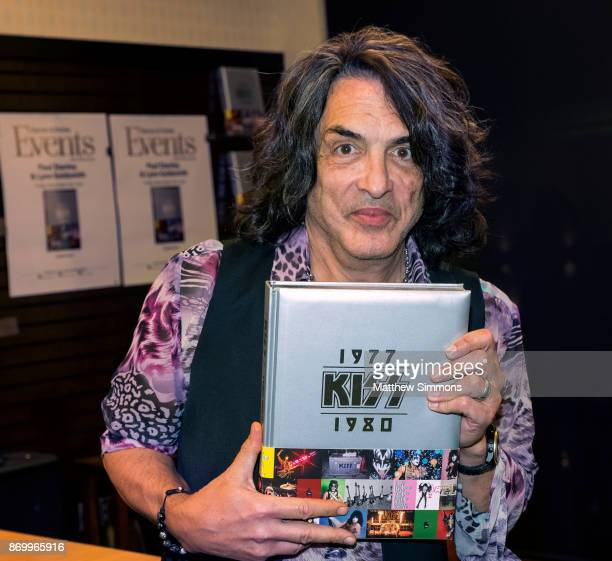 Paul Stanley at a signing for 'KISS 19771980' at Barnes Noble at The Grove on November 3 2017 in Los Angeles California