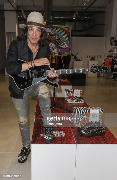 Paul Stanley attends the Puma x Capsule Collection Launch at Puma Store on November 5 2018 in Miami Florida