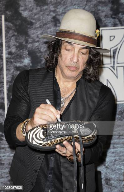 97ff8174d438 Paul Stanley attends the Puma x Capsule Collection Launch at Puma Store on  November 5 2018