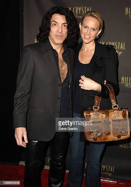 """Paul Stanley during Los Angeles Opening Night of The Tony Award Winning Broadway Show Billy Crystal """"700 Sundays"""" at Wilshire Theatre in Beverly..."""
