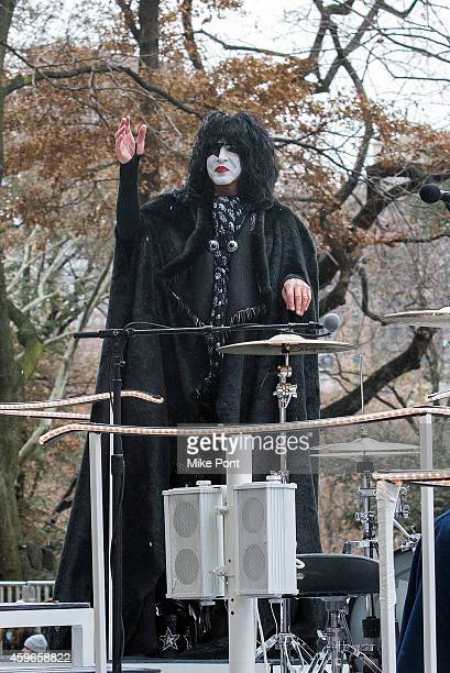 Paul Stanley of KISS attends the 88th Annual Macy's Thanksgiving Day Parade on Streets of Manhattan on November 27 2014 in New York City