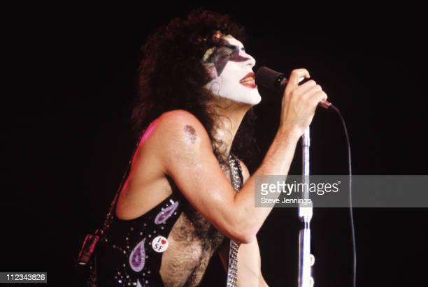 Paul Stanley of Kiss in San Francisco 1979