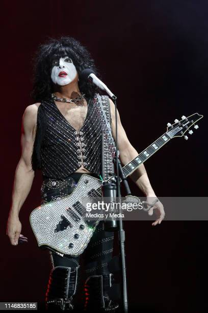 Paul Stanley of KISS performs on stage during the Domination Festival 2019 at Foro Sol on May 3 2019 in Mexico City Mexico