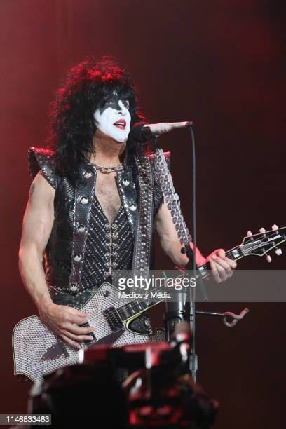 Paul Stanley of KISS performs onstage during the Domination Festival 2019 at Foro Sol on May 3 2019 in Mexico City Mexico