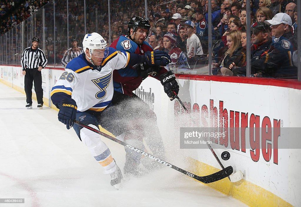 St. Louis Blues v Colorado Avalanche : News Photo