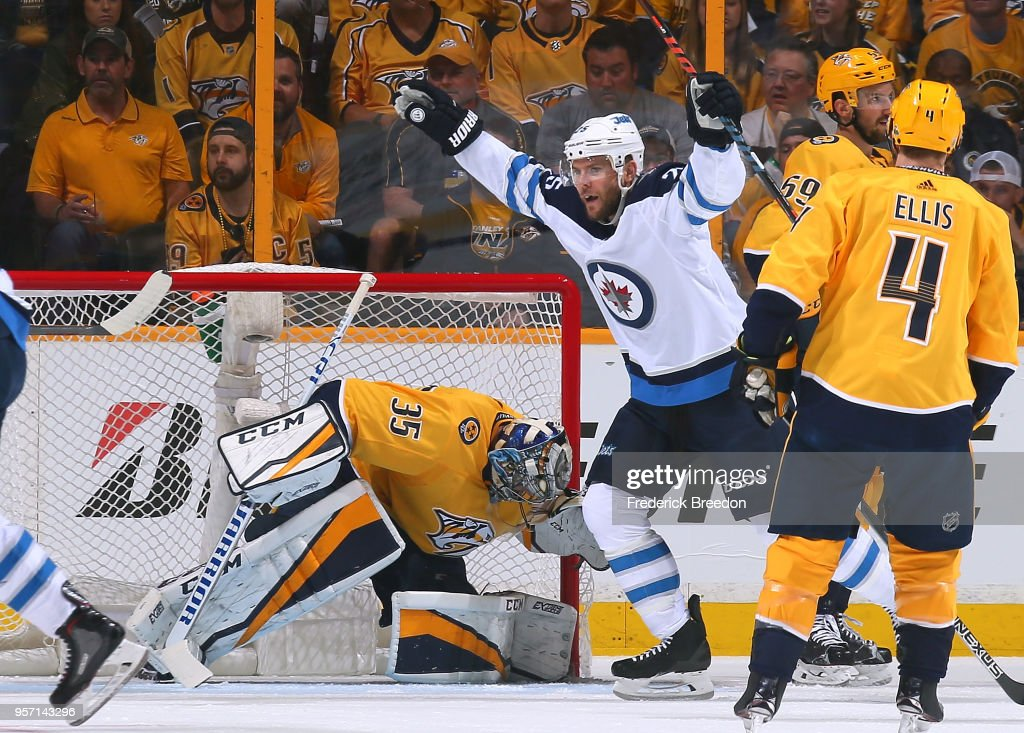 Winnipeg Jets v Nashville Predators - Game Seven : News Photo