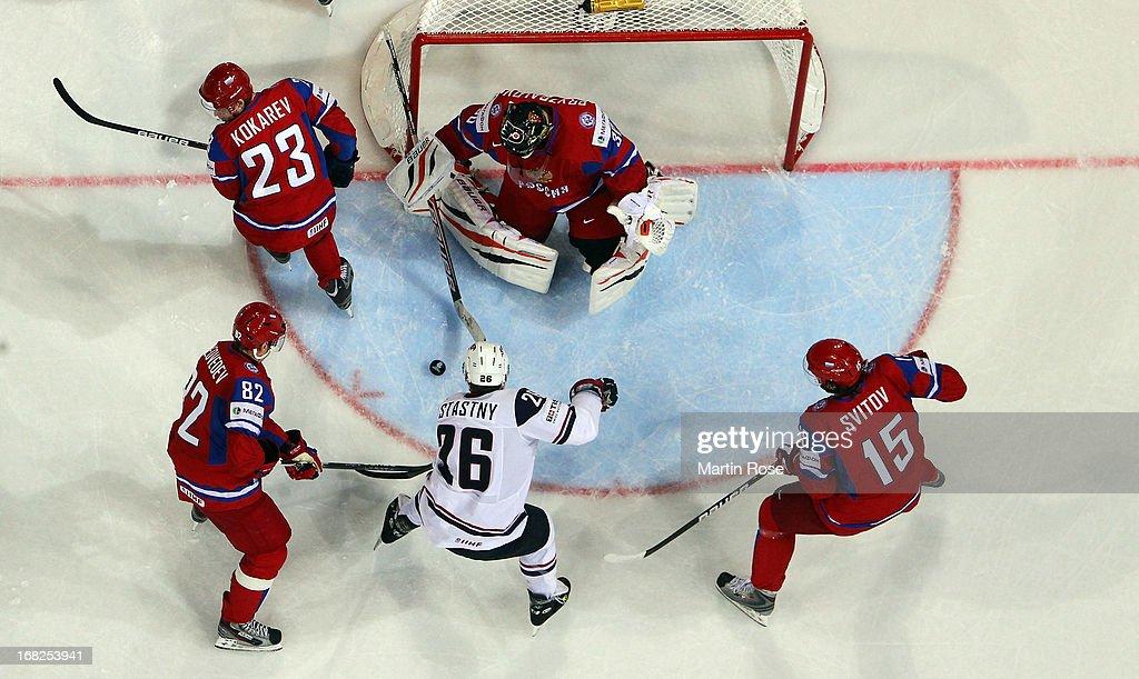 Russia v USA - 2013 IIHF Ice Hockey World Championship : News Photo
