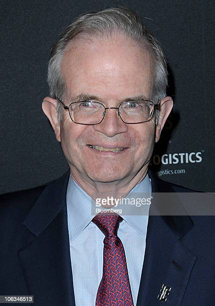 Paul Steiger editor at large for The Wall Street Journal attends the Huffington Post 2010 Game Changers event in New York US on Thursday Oct 28 2010...