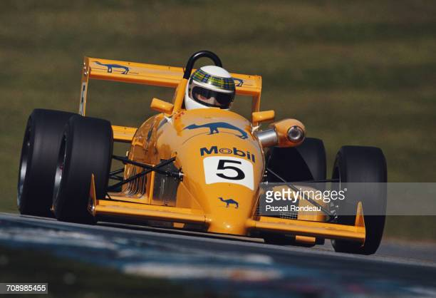 Paul Stewart of Great Britain and son of former three time Formula One Grand Prix world champion Jackie Stewart drives the Camel Paul Stewart Racing...