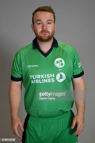 Paul Stirling of Ireland poses for a portrait at The Brightside Ground on May 4 2017 in Bristol England