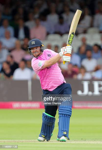 Paul Stirling of Middlesex bats during the Vitality T20 Blast match between Middlesex and Surrey at Lord's Cricket Ground on August 08 2019 in London...