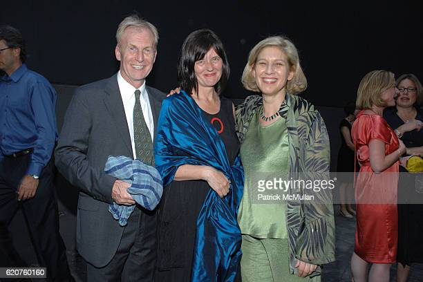 Paul Stirtoa Juliette Kinchin and Wendy Kaplan attend THE MUSEUM of MODERN ART Opening Exhibition of HOME DELIVERY Fabricating The Modern Dwelling at...