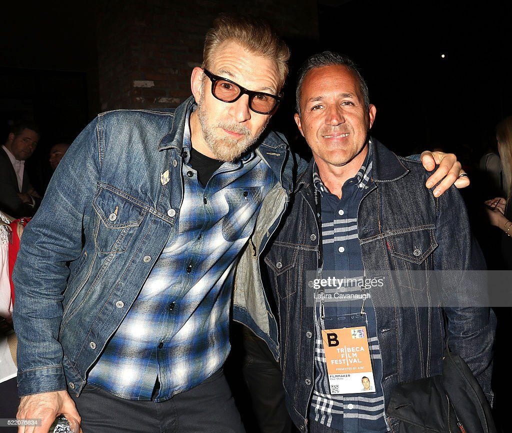 Paul Stone and Greg Kuehn attend Shorts Filmmakers Party - 2016 Tribeca Film Festival at Eventi Hotel on April 17, 2016 in New York City.