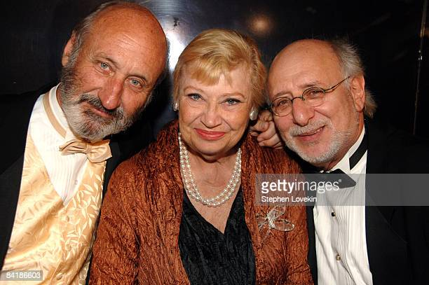 Paul Stookey Mary Travers and Peter Yarrow of Peter Paul Mary honorees