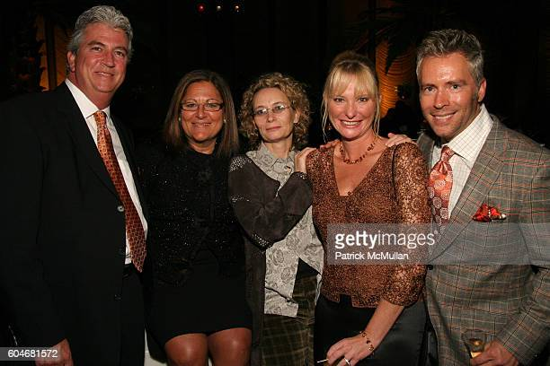 Paul Strickland Fern Mallis Carmella Cardina Vanessa Rose and Russ Noe attend One Scottscdaleís National Launch Party at Four Seasons Restaurant on...
