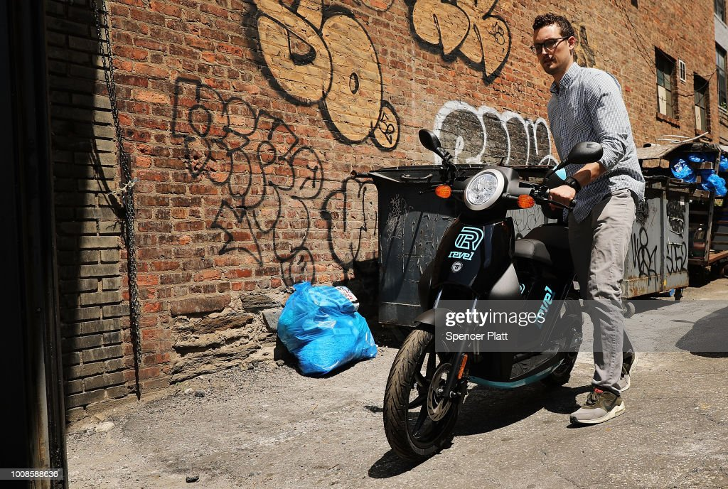 Paul Suhey, co-founder of the electric moped start-up Revel