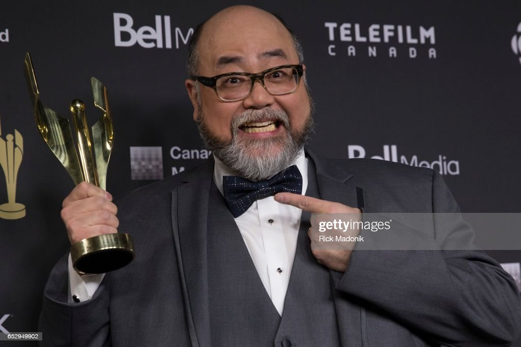 Paul Sun-Hyung Lee, for Kim's Convenience. Canadian Screen Awards red carpet at Sony Centre for the Performing Arts ahead of the show.