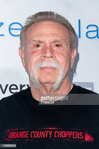 """Paul Teutul Sr. Attends the """"Frozen Planet"""" premiere at Alice Tully Hall, Lincoln Center on March 8, 2012 in New York City."""