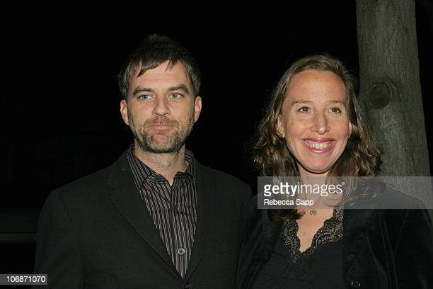 Paul Thomas Anderson and Caroline Baron producer 'Capote'