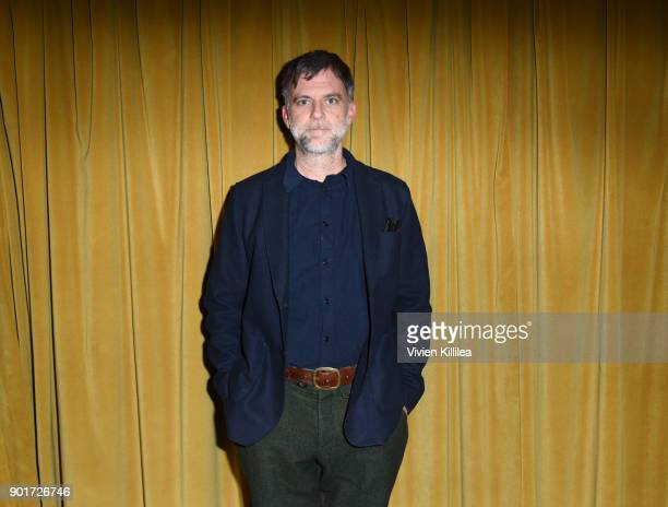 Paul Thomas Anderson attends the 29th Annual Palm Springs International Film Festival Friday Film Screenings on January 5 2018 in Palm Springs...