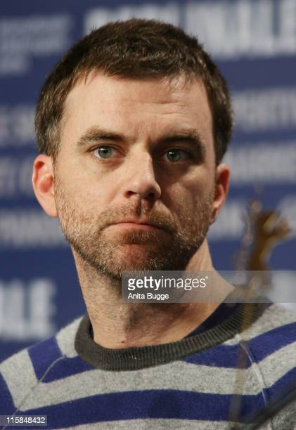 Paul Thomas Anderson attends the There Will Be Blood press conference during day two of the 58th Berlinale International Film Festival held at the...