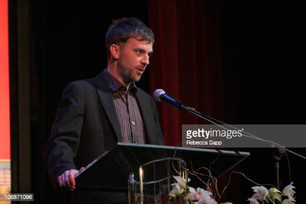 Paul Thomas Anderson during 21st Annual Santa Barbara International Film Festival The Riviera Award Honoring Phillip Seymour Hoffman at Marjorie Luke...