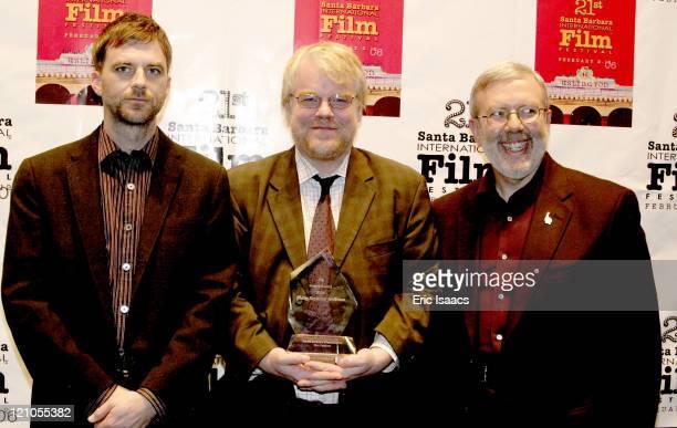 Paul Thomas Anderson Philip Seymour Hoffman and Leonard Maltin