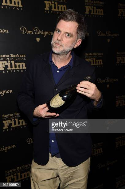 Paul Thomas Anderson visits the Dom Perignon Lounge before receiving the Outstanding Directors Award at The Santa Barbara International Film Festival...