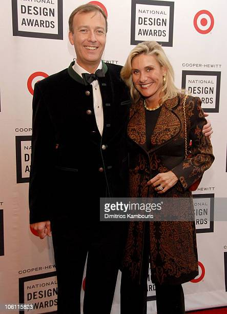 Paul Thompson and Susan Magrino during 2006 Cooper-Hewitt National Design Awards Gala at Cooper-Hewitt National Design Museum in New York City, New...