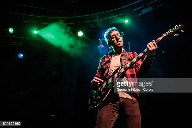 Paul Thompson of English Indie Pop band Alvarez Kings opens the concerto of American singer and songwriter Melanie Adele Martinez performs on...