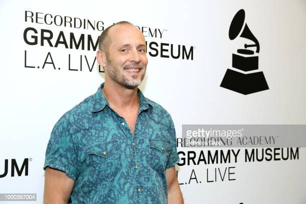 Paul Thorn greets fans at The Drop Paul Thorn at The GRAMMY Museum on July 16 2018 in Los Angeles California