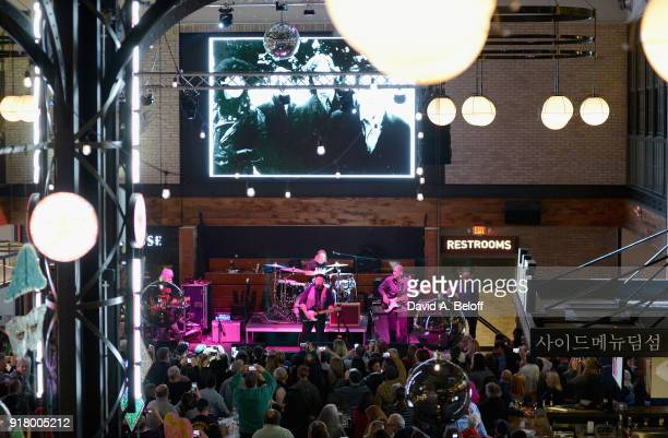 Paul Tiers David Middleton Bil Shearin Jeff Bailey of Waxing Poetics perform during the Veer Music Awards at Waterside District on February 13 2018...
