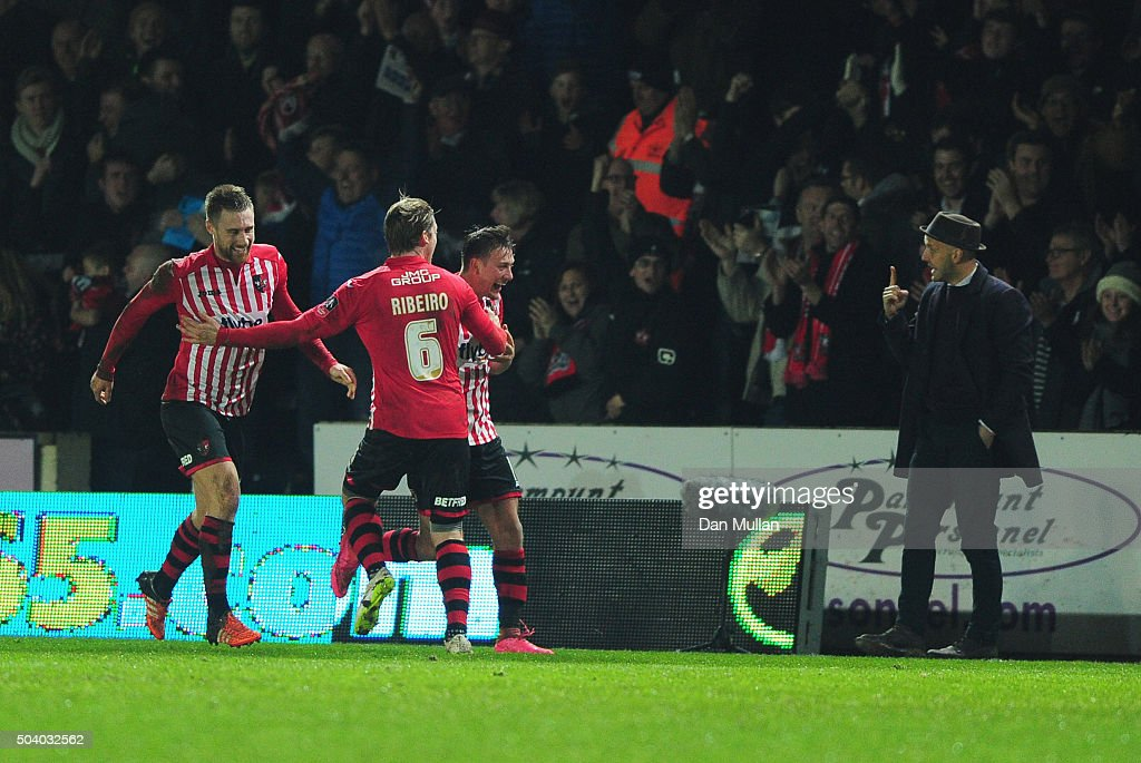 Exeter City v Liverpool - The Emirates FA Cup Third Round : News Photo