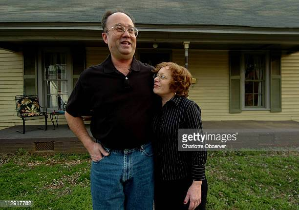 Paul Trahan and Cindy Salerno at their NoDa, North Carolina home. The Hurricane Katrina evacuees are keeping their culture and their food alive in...