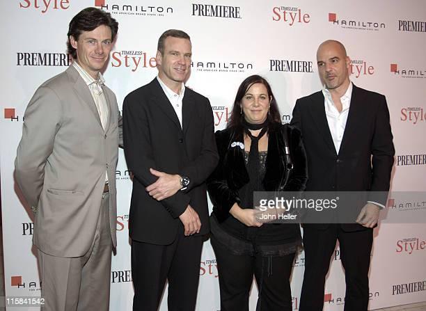 Paul Turcotte Vice PresidentPublisher Premiere Magazine Matthias Breschan Hamilton Watch Company Arianne Phillips Costume Designer and recipient of...