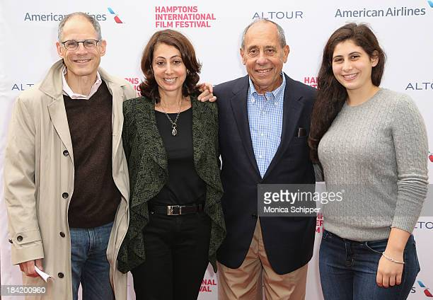 Paul Ullman Donna Zaccaro John Zaccaro and Natalie Ullman attend the 21st Annual Hamptons International Film Festival on October 11 2013 in East...