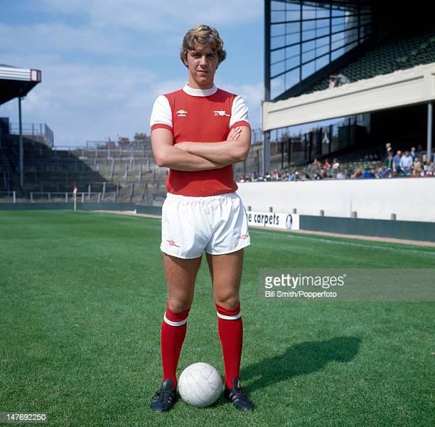 Paul Vaessen of Arsenal at Highbury Stadium in London circa 1981