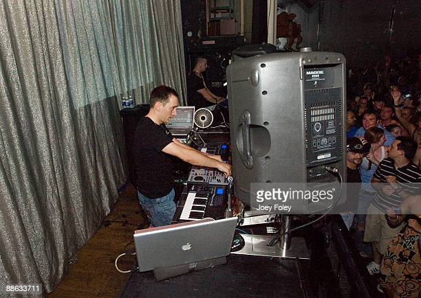 Paul van Dyk performs on stage at Talbot Street on June 22 2009 in Indianapolis Indiana
