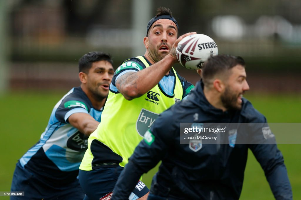 New South Wales Blues Training Session