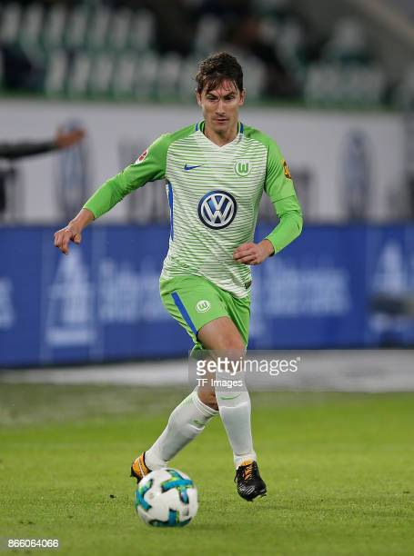 Paul Verhaegh of Wolfsburg controls the ball during the Bundesliga match between VfL Wolfsburg and TSG 1899 Hoffenheim at Volkswagen Arena on October...