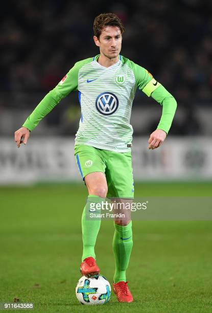 Paul Verhaegh of Wolfsburg in action during the Bundesliga match between Hannover 96 and VfL Wolfsburg at HDIArena on January 28 2018 in Hanover...