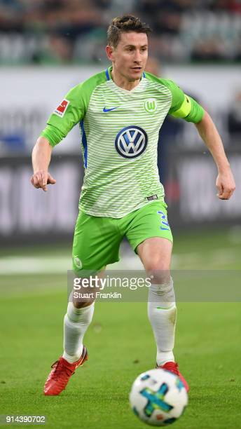Paul Verhaegh of Wolfsburg in action during the Bundesliga match between VfL Wolfsburg and VfB Stuttgart at Volkswagen Arena on February 3 2018 in...