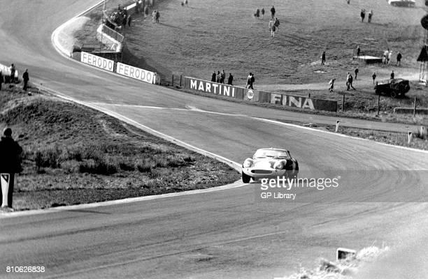 Paul Vestey driving a Ferrari 275GTB/C at Spa 1000Ks